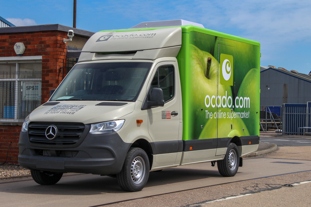 Stuart Skingsley, Head of Fleet for Ocado, Ocado